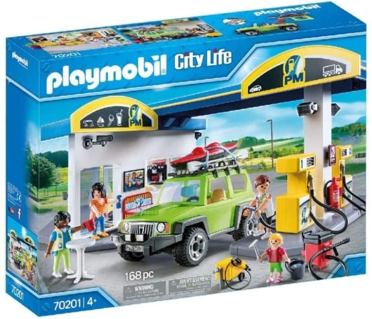 Playmobil Gasolinera, Multicolor